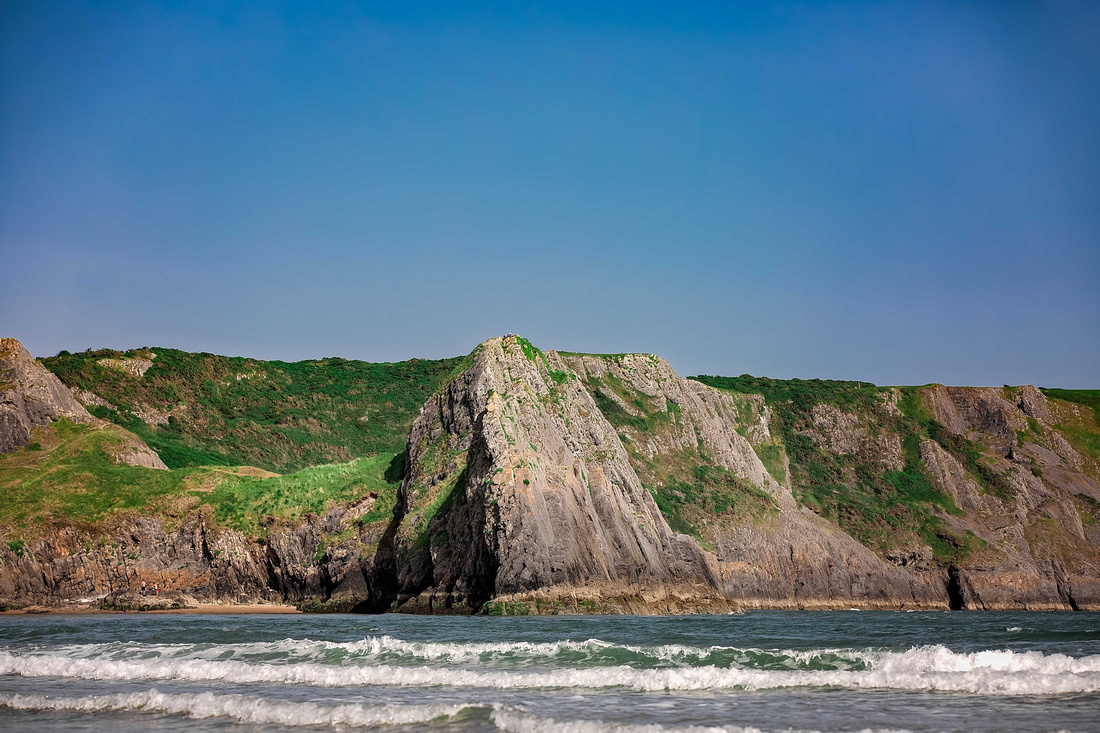 """Fotograf Ravensburg Lindau"" Photographer ""Photographer Cardiff"" Weddingphotography, Destinationphotographer, Landscape, Wales, Pembrokeshire, ""Three cliffs bay"" Southgate, Tenby. Wangen im Allgäu"